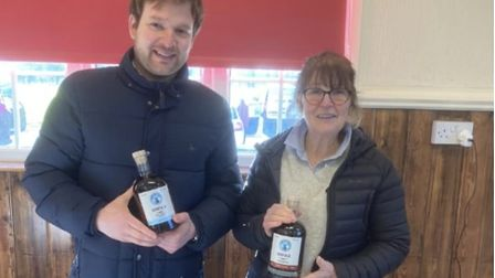 Pilot Ben Crisp started The Norfolk Rum Company with mother-in-law Theresa Robison last July.