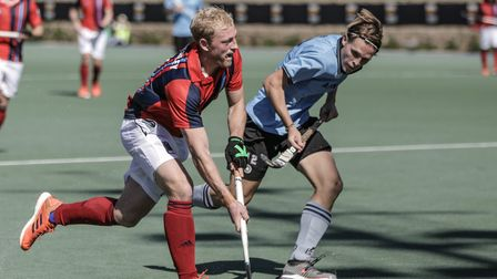 Hampstead & Westminster's Rupert Shipperley on the ball (pic Mark Clews)