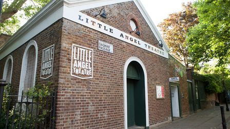 Little Angel Theatre on Dagmar Passage Islington first opened its doors in November 1961