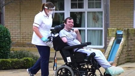 Askham Rehab, a specialist neuro rehab community, near Doddington, has shared the journey of David Scrimshaw, a former...
