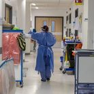 COVID-19 cases are falling at Hertfordshire's hospitals, but intensive care is getting busier.