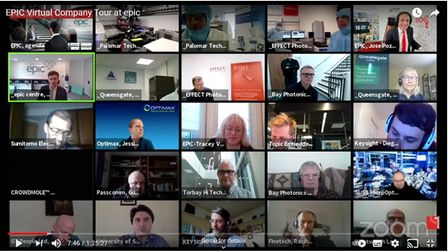 The virtual company tour at EPIC