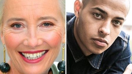 Emma Thompson and Daryl McCormack star in Good Luck To You, Leo Grande being shot in Norwich this March.