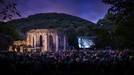 Adventure Cinema at Margam Park, South Wales, in 2019
