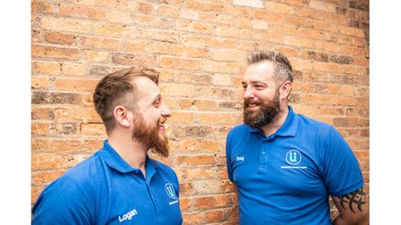 Picture of two men helping with new mental health support hub