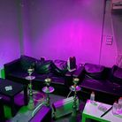 Shisha smoking equipment in The Lounge in Plaistow