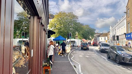 Axminster town centre