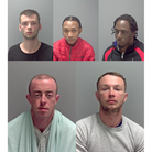 Criminals jailed in Suffolk in February 2021