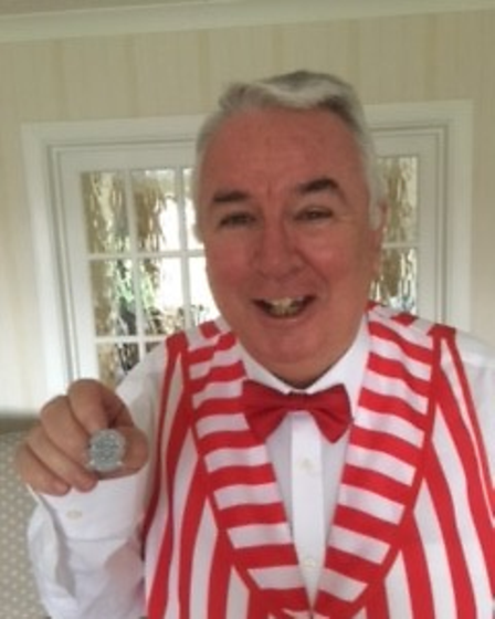 Brian Hocken, a bass singer with the Kings of Herts chorus.