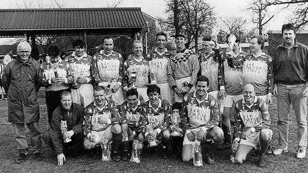 Farriers Arm Reserves won the Reserves Cup in 1996