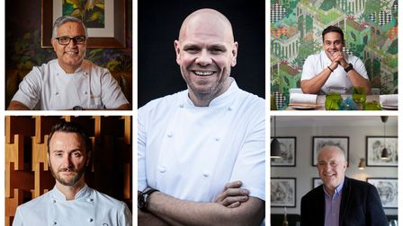 Chefs Atul Kochhar, Jason Atherton, Tom Kerridge, Paul Ainsworth and Rick Stein will create dishes for The Alfresco Diner...