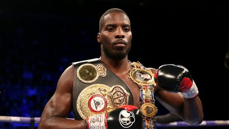 File photo dated 02-02-2019 of Lawrence Okolie