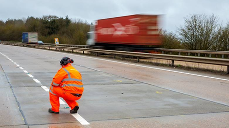 The A14 resurfacing work between Claydon and Copdock has now been completed