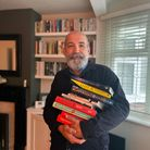 Giles Wilson launched the online store Wanstead Bookshop to help connect readers and champion local authors.