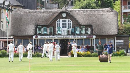 Return of play will be welcome at Sidmouth Cricket Club