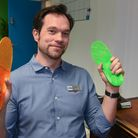 Ian Sadler, muscular skeletal specialist podiatrist, at BxClinin on Thorpe Road in Norwich. Picture: