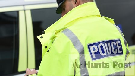 Hunts police stepped as suspected drug deal was taking place.