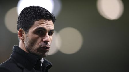 File photo dated 02-02-2021 of Arsenal manager Mikel Arteta. Issue date: Wednesday March 3, 2021.
