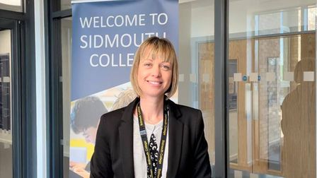 Sidmouth College Principal Sarah Parsons