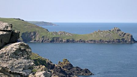 Zennor Head is a promontory on the Cornish coast of England, between Pendour Cove and Porthzennor Cove.