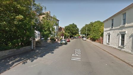 A moped was stolen from outside a home on North Parade in Lowestoft.