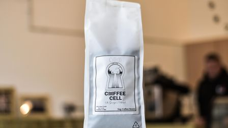 The Coffee Cell blend on offer, brewed at HMP Hollesley Bay