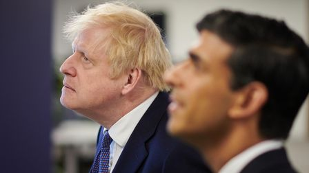 File photo dated 05/10/20 of Prime Minister Boris Johnson and Chancellor of the Exchequer Rishi Suna