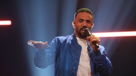 Craig David performing during the filming for the Graham Norton Show at BBC Studioworks 6 Television