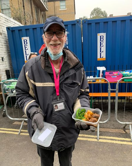Ringcross foodbank in Holloway served wild venison during Food Waste Action Week
