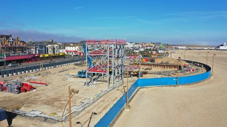 New Marina Centre being built in Great Yarmouth