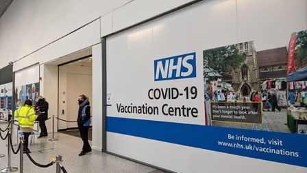 A Covid vaccination centre has opened at The Liberty Shopping Centre in Romford.