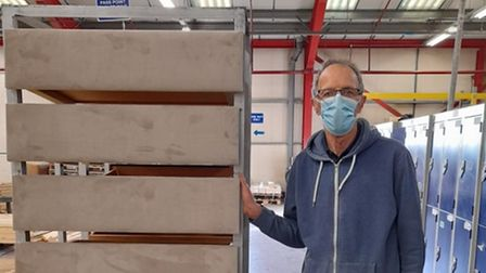 John Branson works at Bensons for Beds in Huntingdon