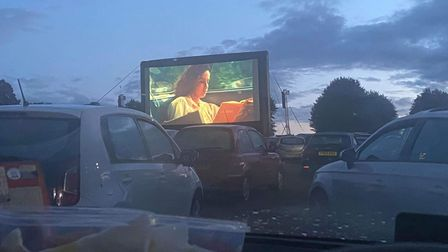 A screening of Dirty Dancing at The Luna Drive-in Cinema.