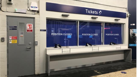 Ticket offices.