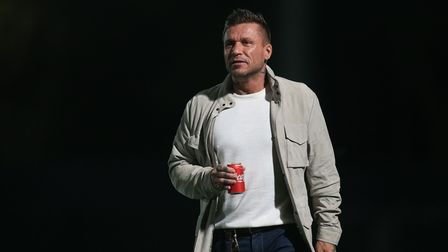 Glenn Tamplin during his time as Romford owner-manager
