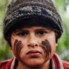 A still from Hunt for the Wilderpeople showing Julian Dennison as Ricky Baker.