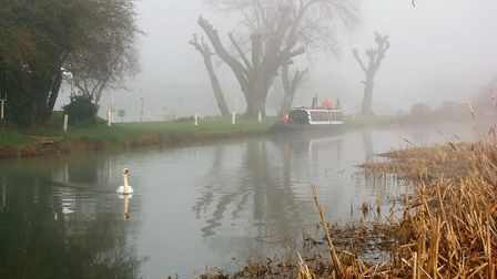 Philip Day took this image of the River Nene at Oundle.