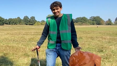 Heath Hands' Keir Chauhan, who took part in paid work experience in 2020.