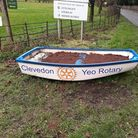 The fibreglass boat has disappearedfrom the entrance of Clevedon.