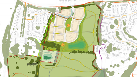 Plans for 120 homes on field in Houghton