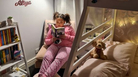 At Warberry,children joinedmeetings wearing pyjamas whilesnuggled up in bed, ready to listen to their teacher sharing...