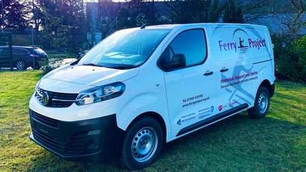 The Ferry Project in Wisbech has been donated a new van by Anglian Water.