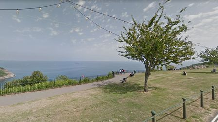 Babbacombe Downs in Torquay