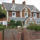 St Mary's Nursing Home in Undercliff Road East on Felixstowe seafront