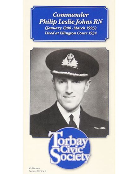 Torbay Civic Society'spamphlet about Commander Philip Johns
