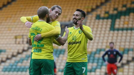 Teemu Pukki and Todd Cantwell were on target for Norwich City in a 3-0 win against Luton Town. Lukas Rupp also earned...