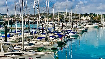 Torquay's outer harbour.