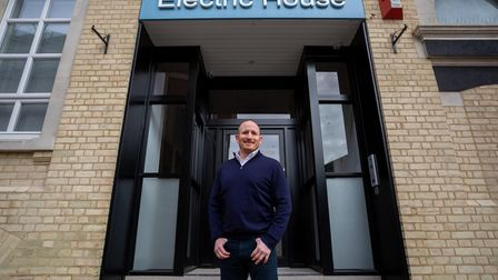 Martin Holland of Christchurch Holland, the new owner of Electric House in Ipswich