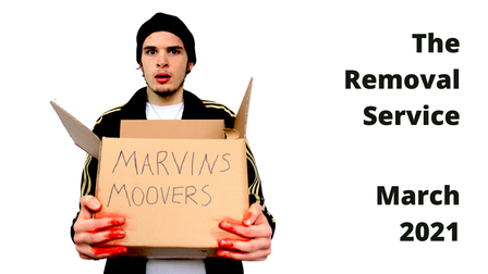 The Removal Service will have its world premiere as a live stream from the Maltings Theatre in St Albans.