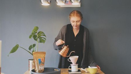 Nelly Keen, who is set to become a supervisor at Applaud Coffee in Ipswich Picture: APPLAUD COFFEE